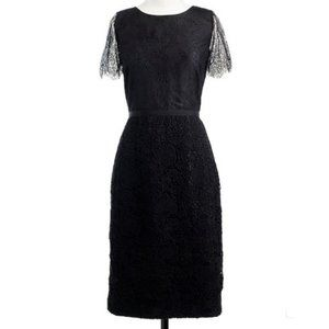J Crew Collection lace shift dress